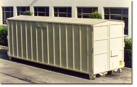 Job Site Storage Container 22 AV Equipment Rentals Inc