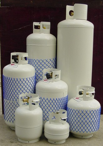 Lpg Propane Tank 25 Gal 100 Av Equipment Rentals Inc